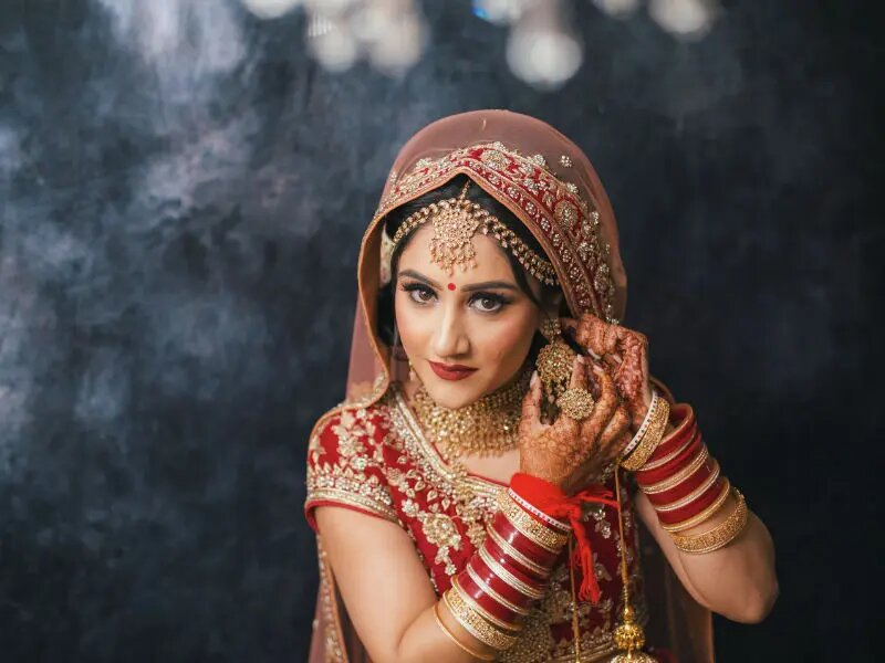 bride at her wedding in wolverhampton taken by harvest creative media wedding photography