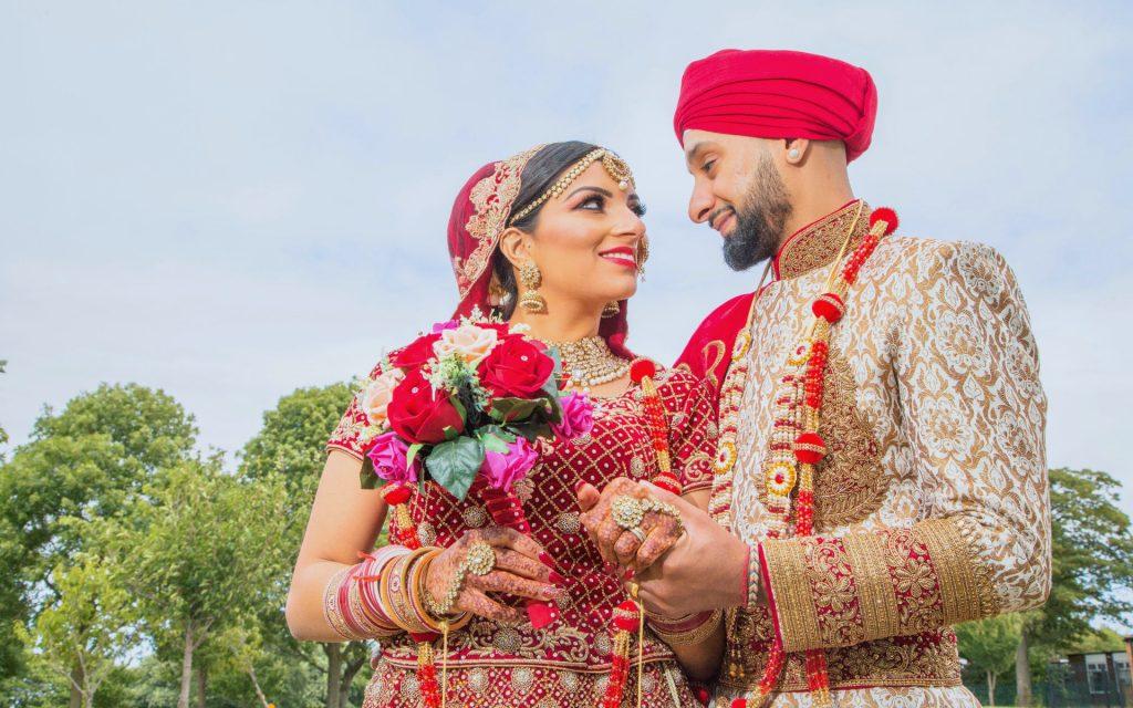 Sikh wedding photo taken in wolverhampton
