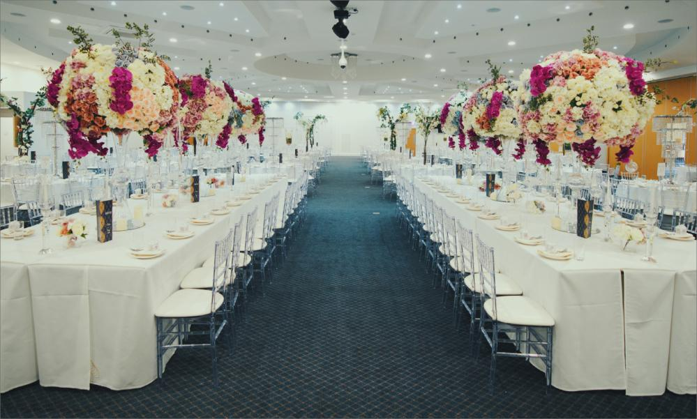 wedding hall in coventry, captured by harvest creative media