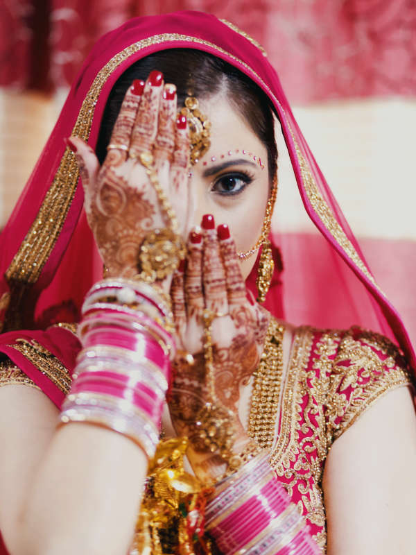bride in her wedding video in coventry